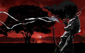 Sundown Afro Samurai wallpaper
