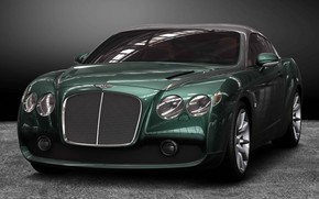 Bentley Zagato GTZ 2008 wallpaper