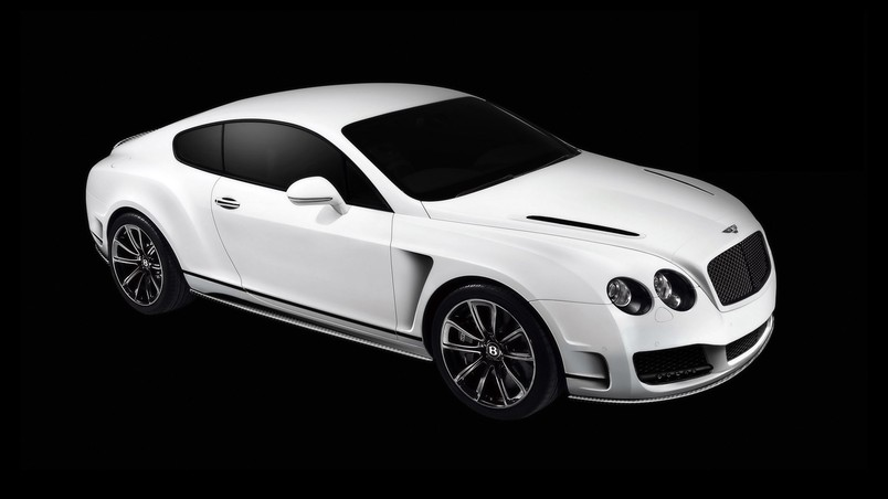 2010 Bentley Continental GT Bullet White wallpaper