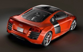 Audi R8 Outstanding Torque Rear wallpaper