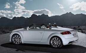 Audi TT Clubsport Quattro wallpaper