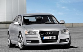 Audi A8 Quattro 2008 wallpaper