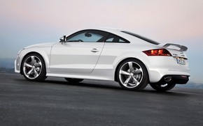 2009 Audi TT RS Coupe Rear And Side Tilt wallpaper