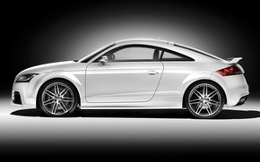 2009 Audi TT RS Coupe Studio Side wallpaper