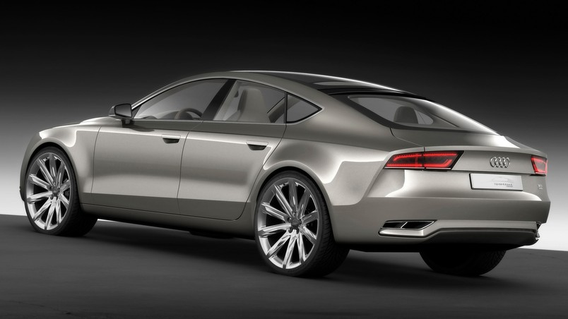 2009 Audi Sportback Concept  Rear And Side wallpaper