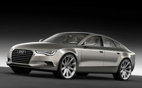 2009 Audi Sportback Concept - Front And Side wallpaper