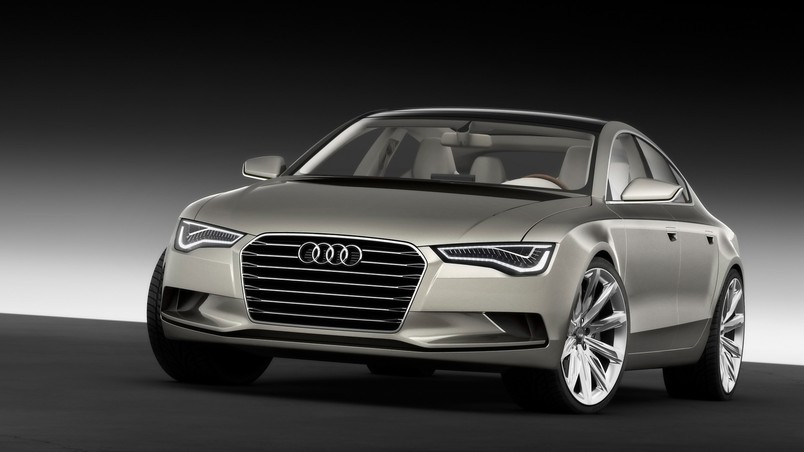 2009 Audi Sportback Concept - Front Angle wallpaper
