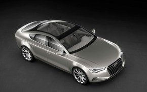 2009 Audi Sportback Concept - Front And Side Top wallpaper