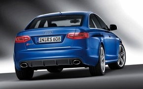 2009 Audi RS 6 - Rear Angle Tilt wallpaper