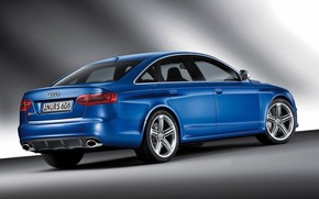2009 Audi RS 6 - Rear And Side Tilt wallpaper