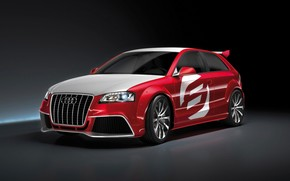 2008 Audi A3 TDI Clubsport Quattro - Front And Side wallpaper