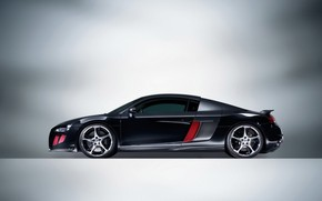 2008 Abt Audi R8-Side wallpaper