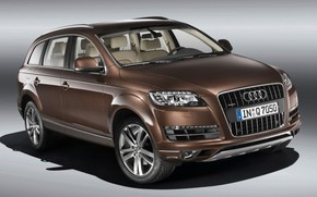 2009 Audi Q7 - Studio Front Angle wallpaper