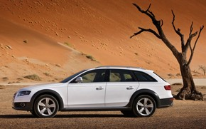 2009 Audi A4 allroad quattro - Side wallpaper
