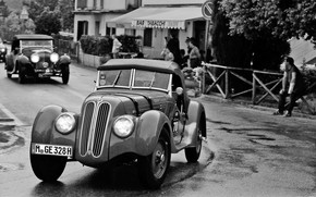 BMW 328 Mille Miglia Green 1937 wallpaper