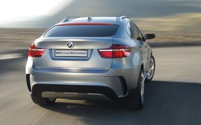 BMW Concept X6 ActiveHybrid Rear 2007 wallpaper