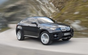 BMW Concept X6 Speed 2007 wallpaper