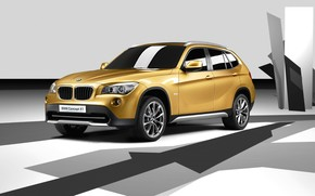 BMW Concept X1 2008 wallpaper