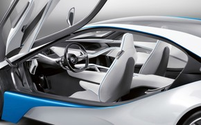 BMW Vision EfficientDynamics Interior wallpaper