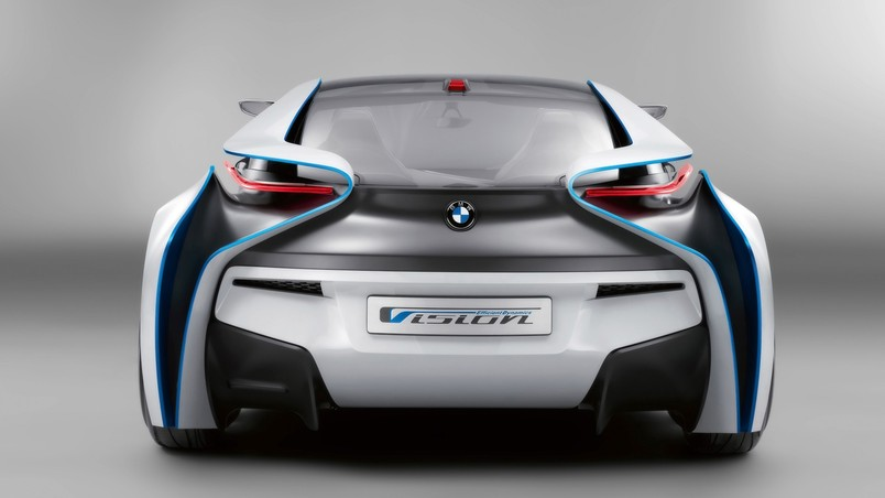 BMW Vision EfficientDynamics Studio wallpaper
