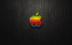Apple Leather wallpaper