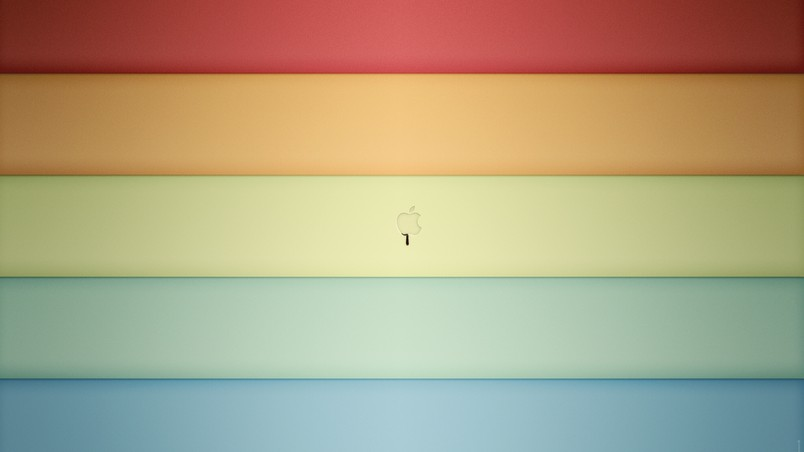 Apple Color Shades wallpaper