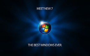 Meet Windows 7 wallpaper