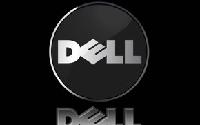 Dell black background wallpaper