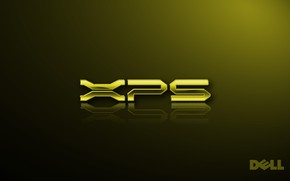 Dell XPS gold wallpaper