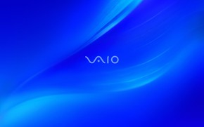 Sony Blue Vaio breeze wallpaper