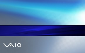 Sony Vaio blue wallpaper