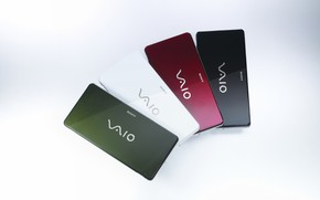 Sony Vaio 4 great colors wallpaper
