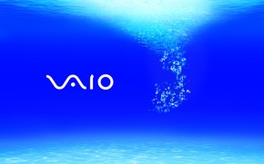 Vaio Grand Blue wallpaper