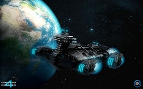 C&C Tiberian Twilight Ship wallpaper