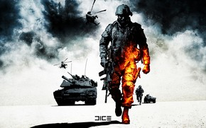 Battlefield Bad Company 2 wallpaper