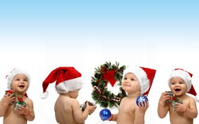 Christmas children wallpaper
