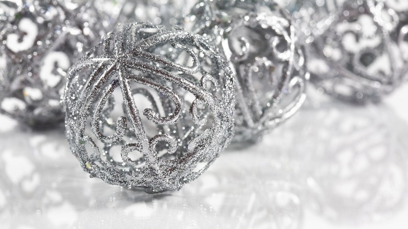 Christmas Snow Globes wallpaper