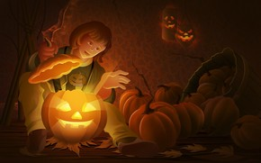 Cool Halloween Pumpkin wallpaper