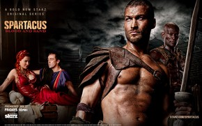 Spartacus: Blood and Sand Tv Series wallpaper