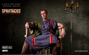 Batiatus Spartacus: Blood and Sand wallpaper
