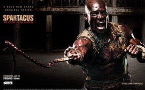 Doctore Spartacus: Blood and Sand wallpaper