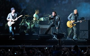 U2 band concert wallpaper