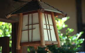 Japanese lamp wallpaper