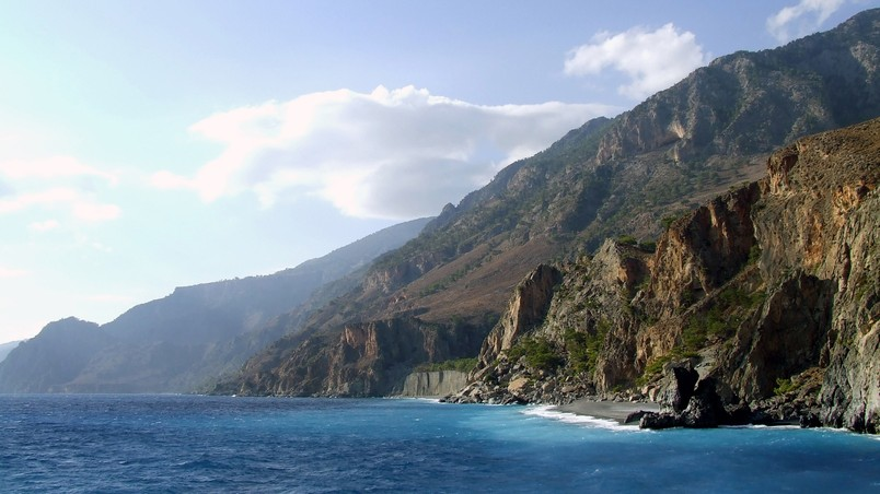 Crete Cliffs wallpaper