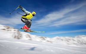 Extreme Skiing wallpaper