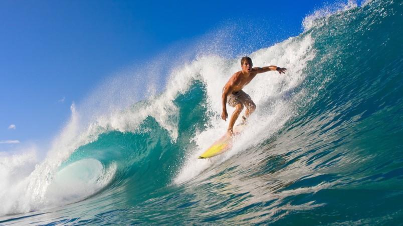 Summer Surf Hd Wallpaper Wallpaperfx
