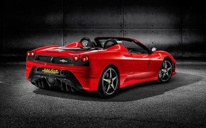 Ferrari Scuderia Spider 16M Red 2009 wallpaper