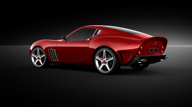 Ferrari Vandenbrink 599 GTO 2009 wallpaper