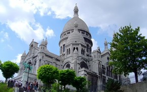 Sacre Coeur Paris wallpaper