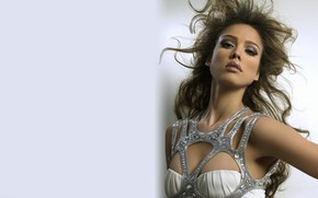 Jessica Alba Diamons Dress wallpaper